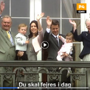 Crown Prince Frederik 50 Years