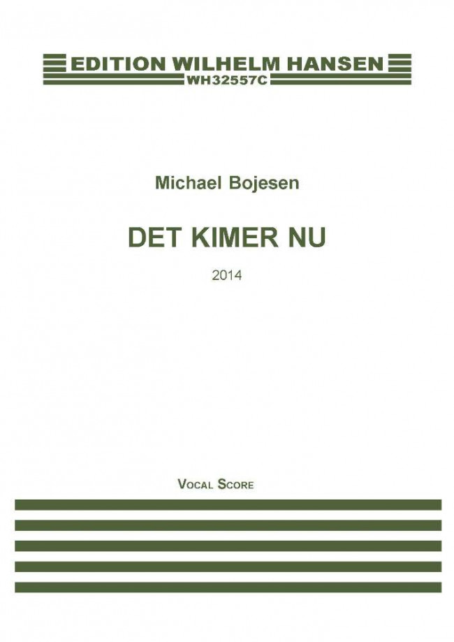 Det kimer nu - work by Michael Bojesen