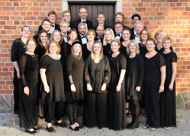 The Fionian Chamber Choir at Hans Tausens Kirke, Odense (2016)